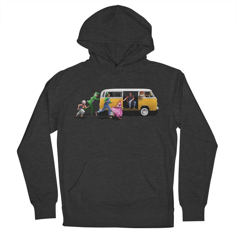 Little Peach Sunshine Men's French Terry Pullover Hoody by kooky love's Artist Shop