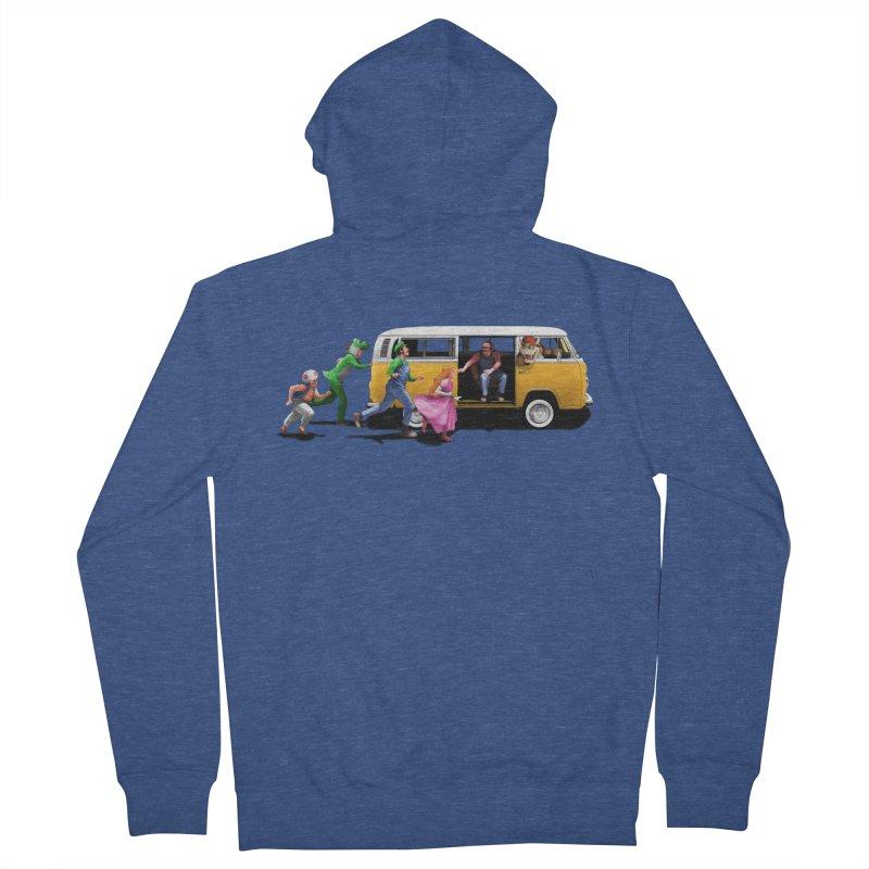 Little Peach Sunshine Men's Zip-Up Hoody by kooky love's Artist Shop