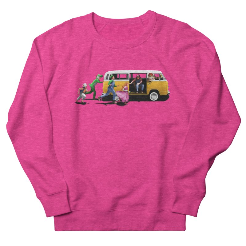 Little Peach Sunshine Women's French Terry Sweatshirt by kooky love's Artist Shop