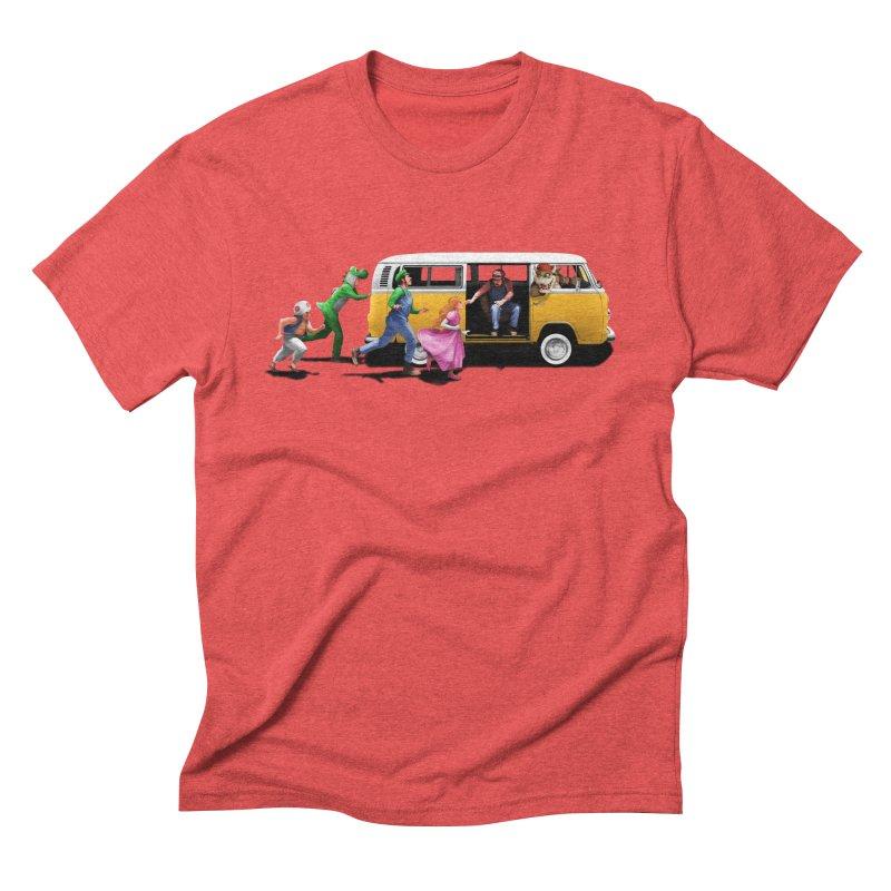 Little Peach Sunshine Men's Triblend T-Shirt by kooky love's Artist Shop