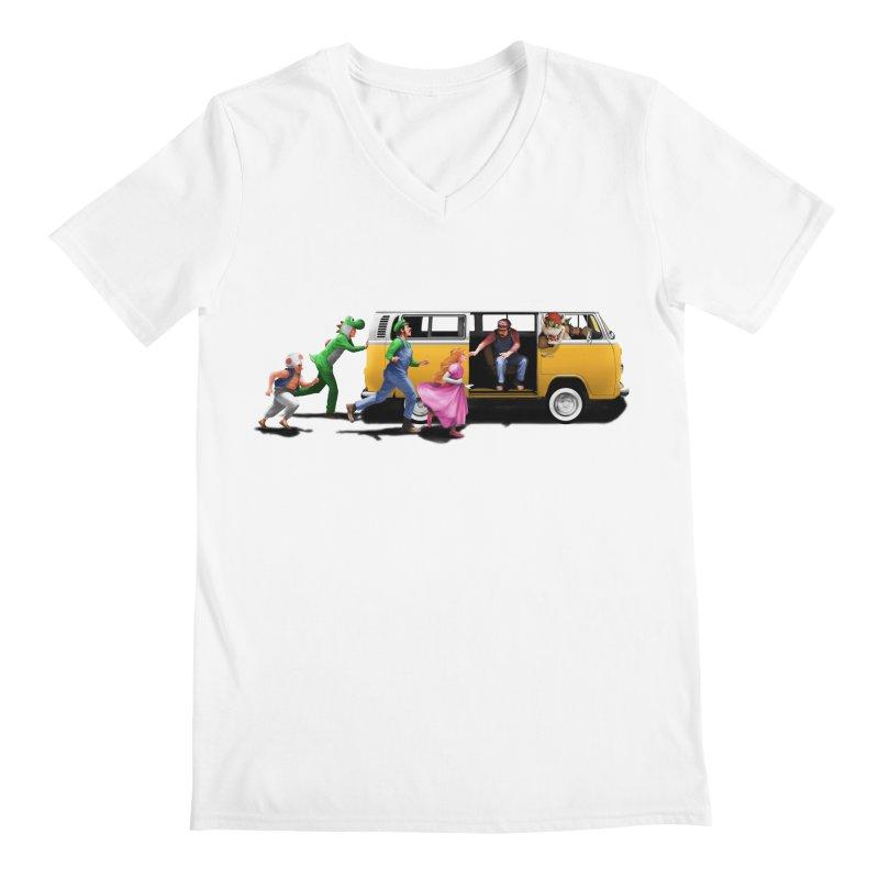 Little Peach Sunshine Men's V-Neck by kooky love's Artist Shop