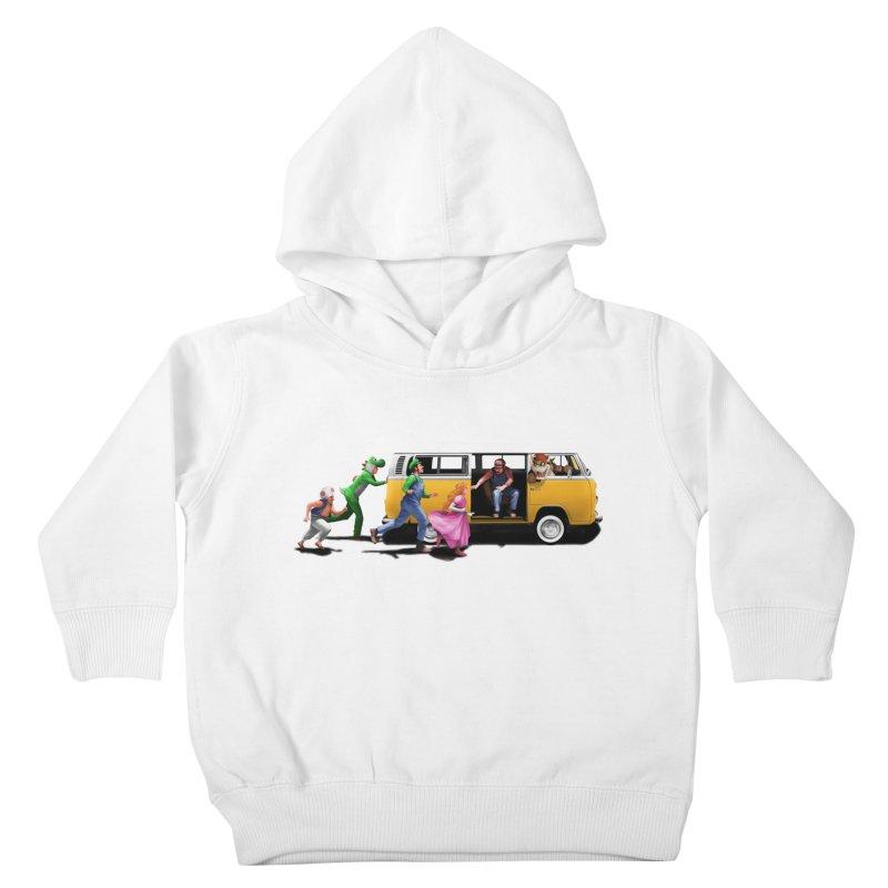 Little Peach Sunshine Kids Toddler Pullover Hoody by kooky love's Artist Shop