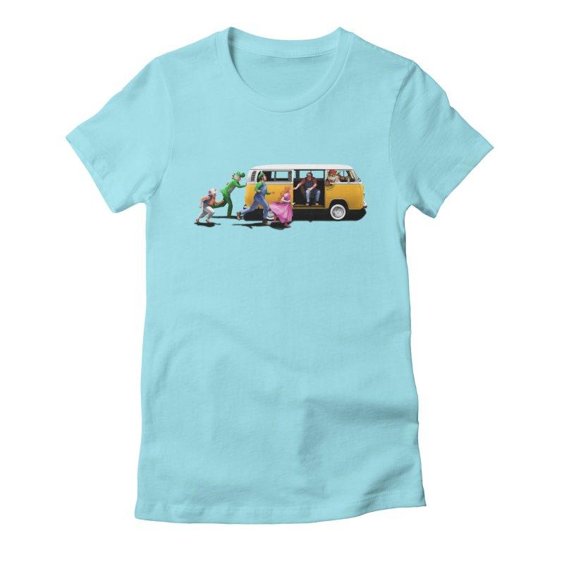 Little Peach Sunshine Women's T-Shirt by kooky love's Artist Shop