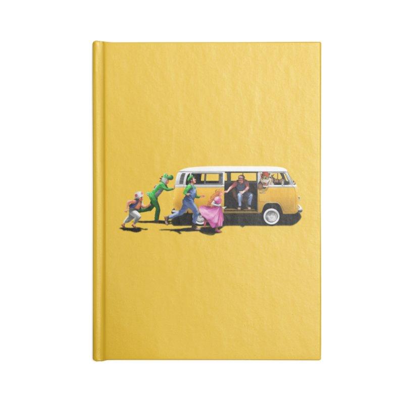 Little Peach Sunshine Accessories Lined Journal Notebook by kooky love's Artist Shop