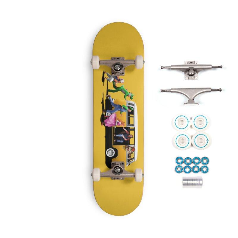 Little Peach Sunshine Accessories Complete - Basic Skateboard by kooky love's Artist Shop
