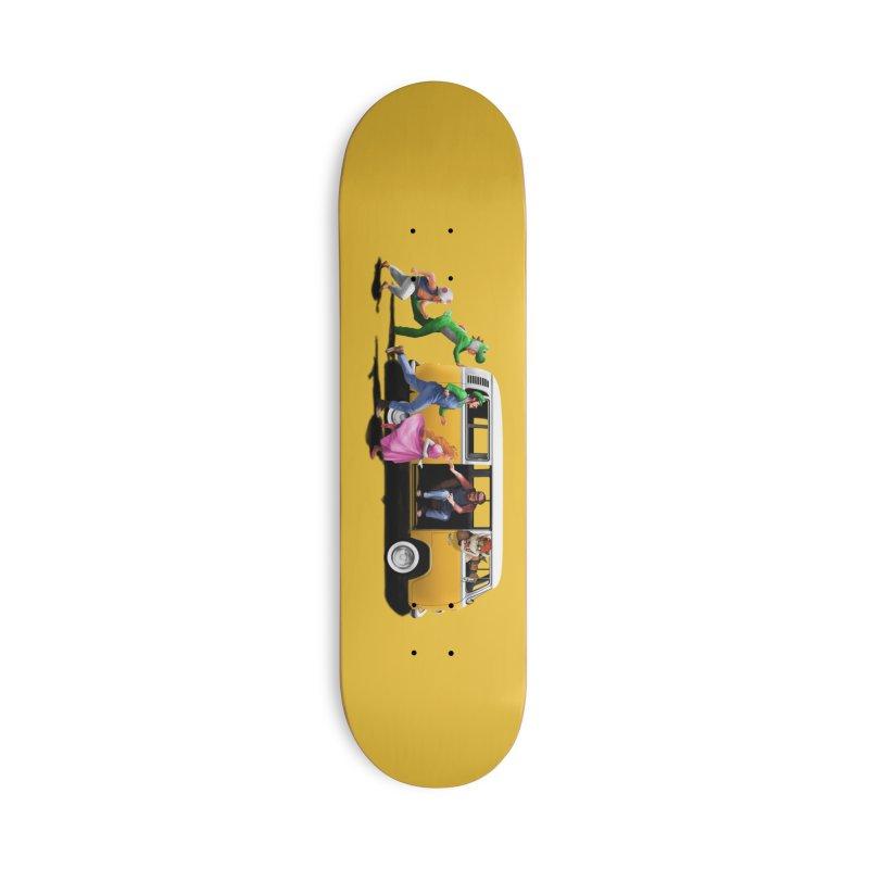 Little Peach Sunshine Accessories Deck Only Skateboard by kooky love's Artist Shop