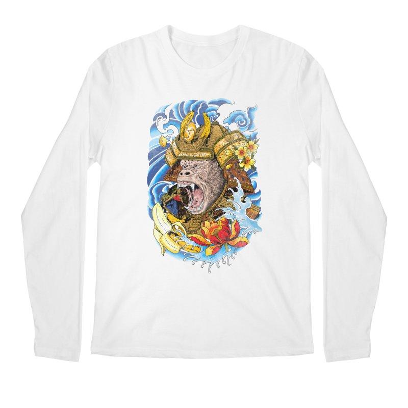 Samurape Men's Regular Longsleeve T-Shirt by kooky love's Artist Shop