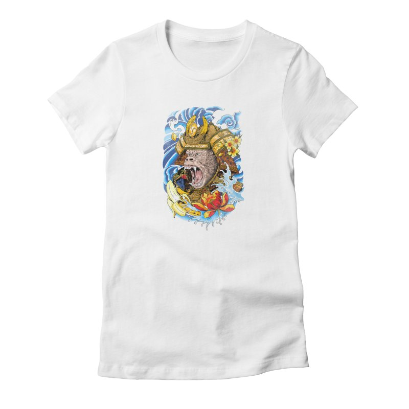 Samurape Women's T-Shirt by kooky love's Artist Shop