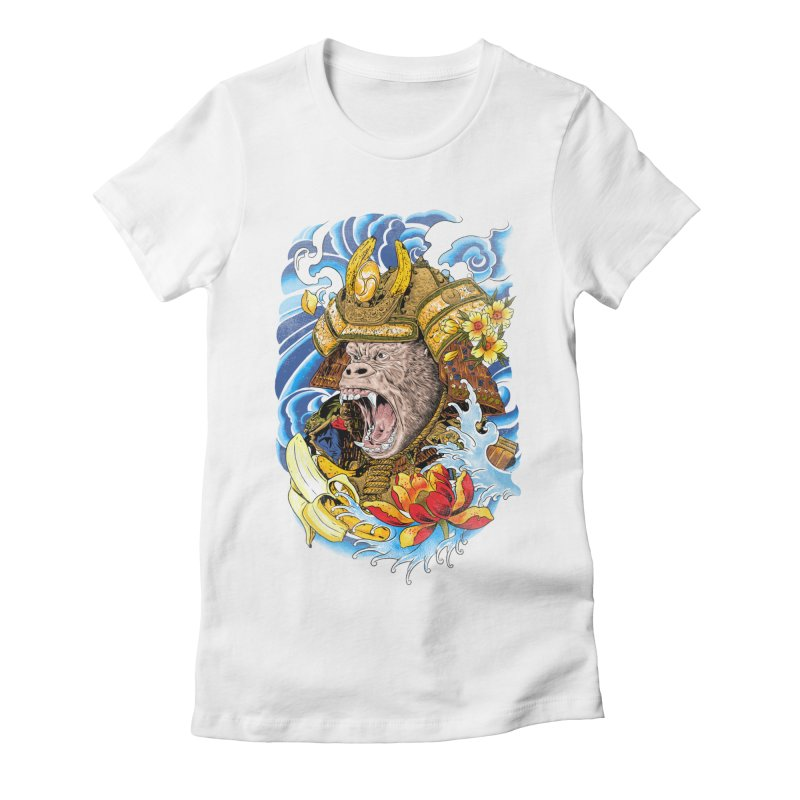 Samurape Women's T-Shirt by kooky love's Artist Shop
