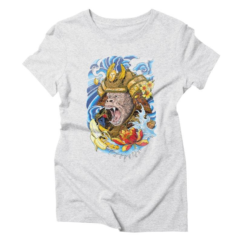 Samurape Women's Triblend T-Shirt by kooky love's Artist Shop