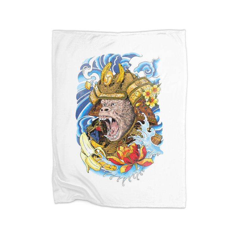 Samurape Home Fleece Blanket Blanket by kooky love's Artist Shop