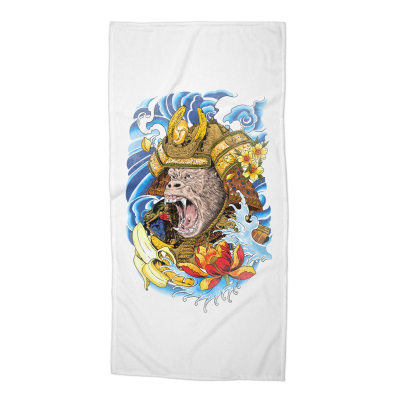 Samurape Accessories Beach Towel by kooky love's Artist Shop