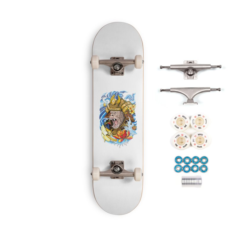 Samurape Accessories Complete - Premium Skateboard by kooky love's Artist Shop