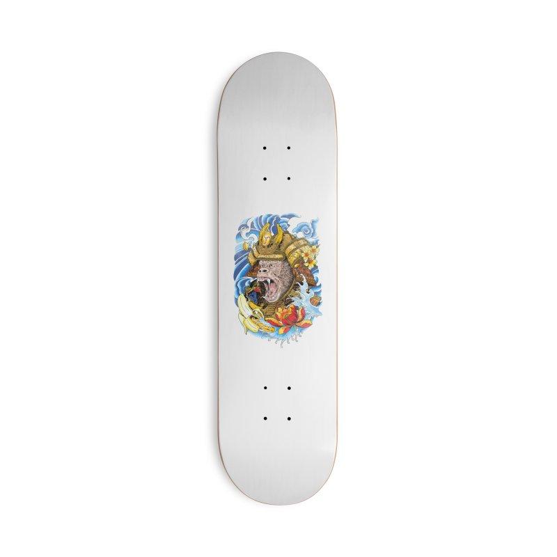 Samurape Accessories Deck Only Skateboard by kooky love's Artist Shop