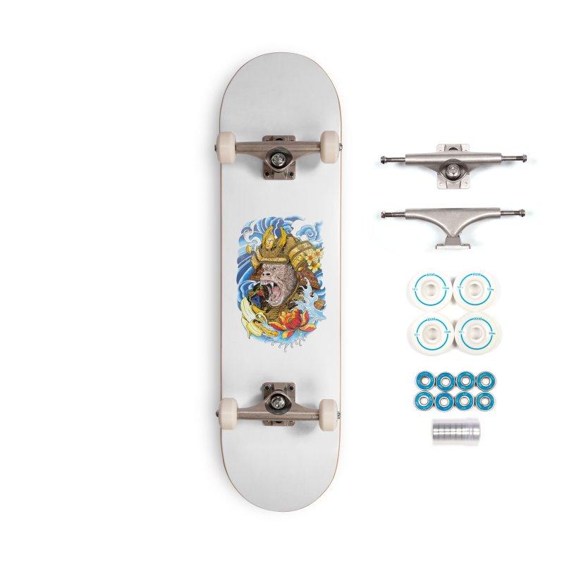 Samurape Accessories Complete - Basic Skateboard by kooky love's Artist Shop