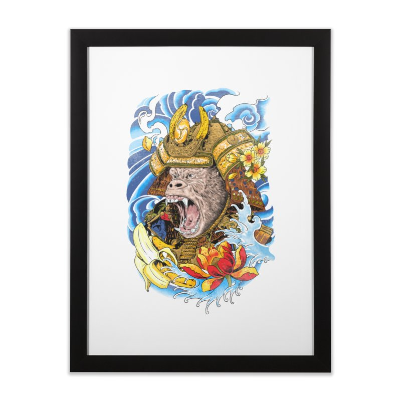 Samurape Home Framed Fine Art Print by kooky love's Artist Shop
