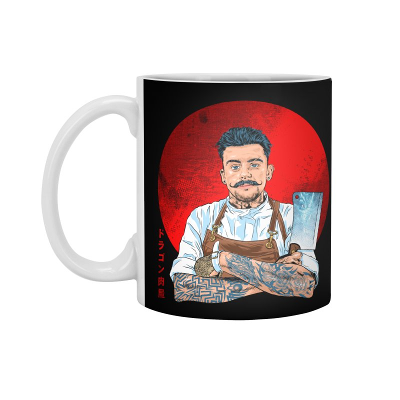 Dragon Buttcher Accessories Standard Mug by kooky love's Artist Shop