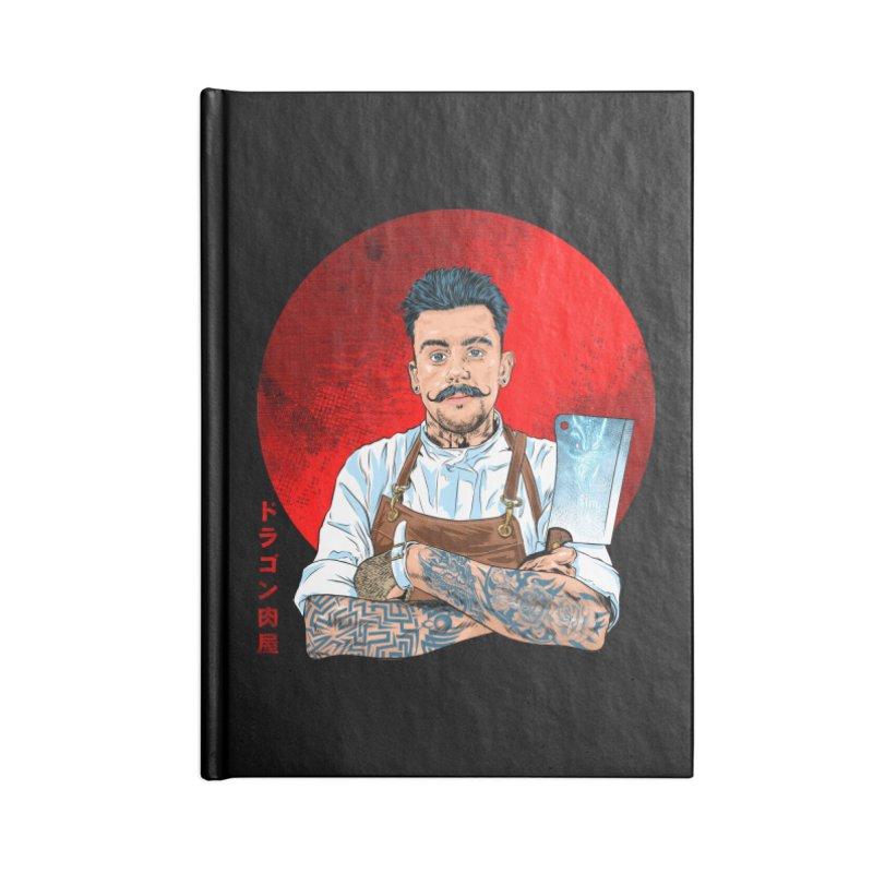 Dragon Buttcher Accessories Lined Journal Notebook by kooky love's Artist Shop