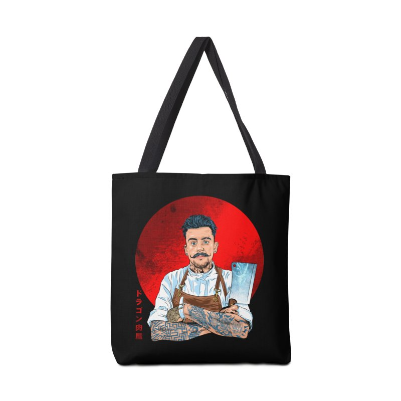Dragon Buttcher Accessories Tote Bag Bag by kooky love's Artist Shop