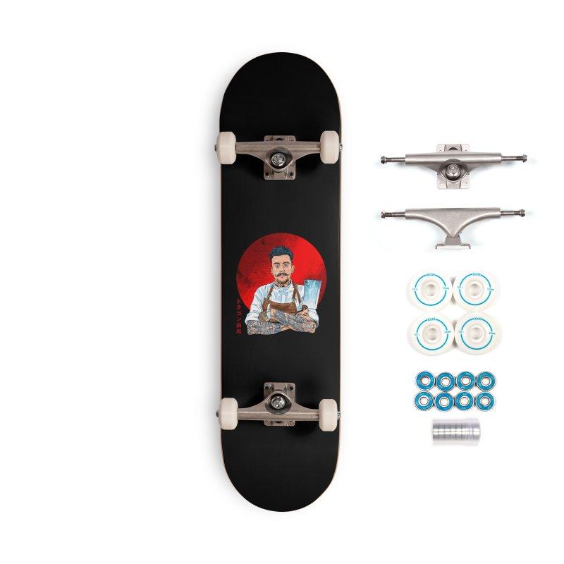 Dragon Buttcher Accessories Complete - Basic Skateboard by kooky love's Artist Shop