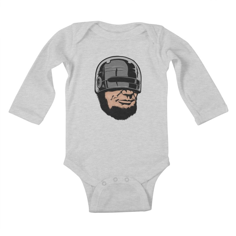 Lincop Kids Baby Longsleeve Bodysuit by kooky love's Artist Shop
