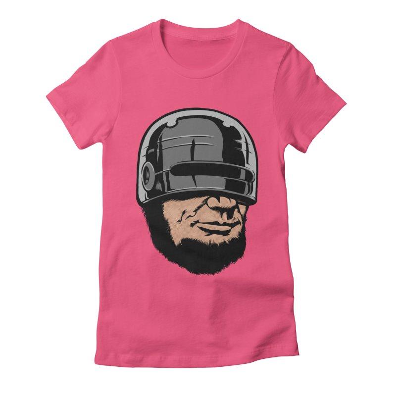 Lincop Women's Fitted T-Shirt by kooky love's Artist Shop