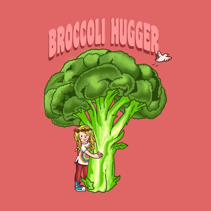 Broccoli Hugger by kooky love's Artist Shop