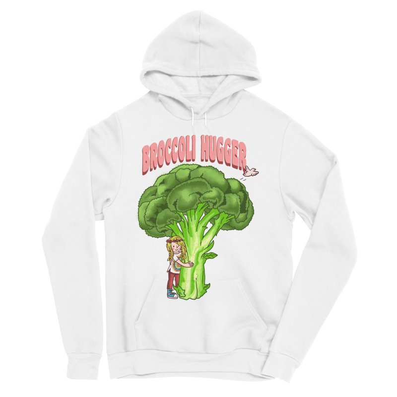 Broccoli Hugger Women's Sponge Fleece Pullover Hoody by kooky love's Artist Shop