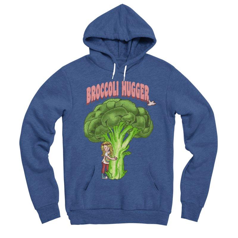 Broccoli Hugger Women's Sponge Fleece Pullover Hoody by kooky love's Artist Shop