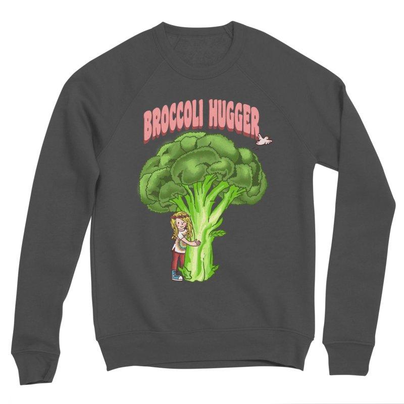 Broccoli Hugger Women's Sponge Fleece Sweatshirt by kooky love's Artist Shop