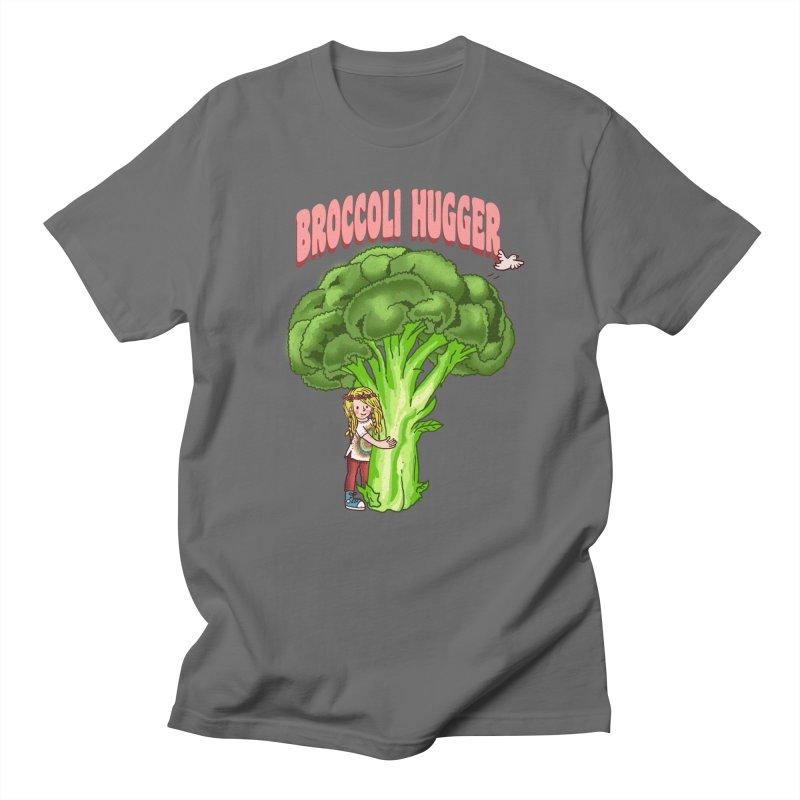 Broccoli Hugger Men's T-Shirt by kooky love's Artist Shop