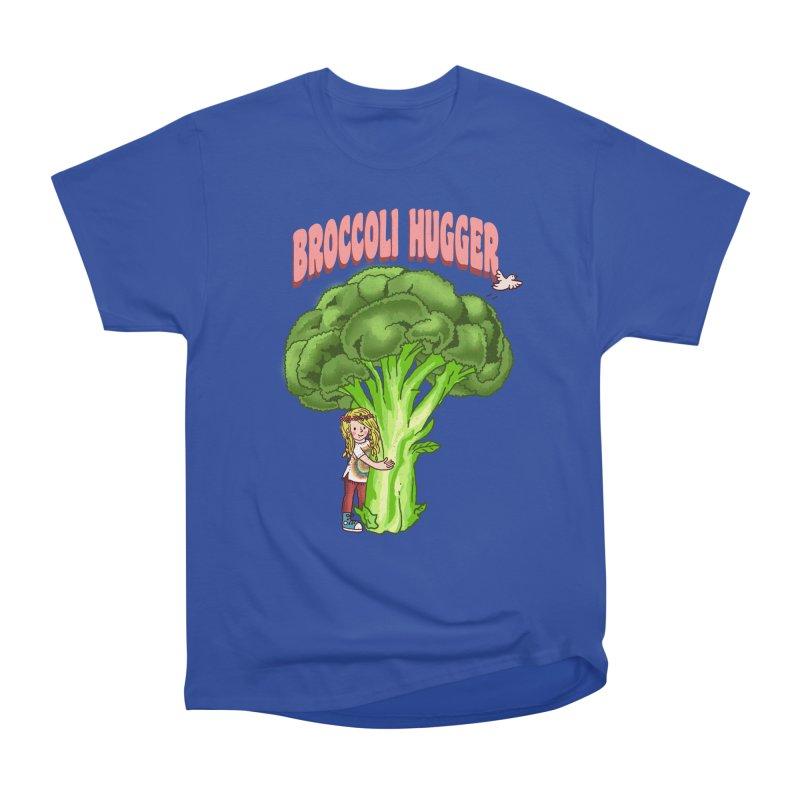 Broccoli Hugger Women's Heavyweight Unisex T-Shirt by kooky love's Artist Shop