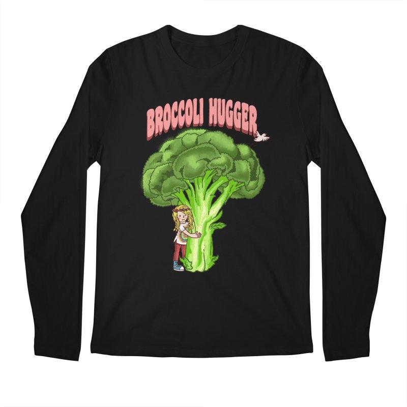 Broccoli Hugger Men's Regular Longsleeve T-Shirt by kooky love's Artist Shop