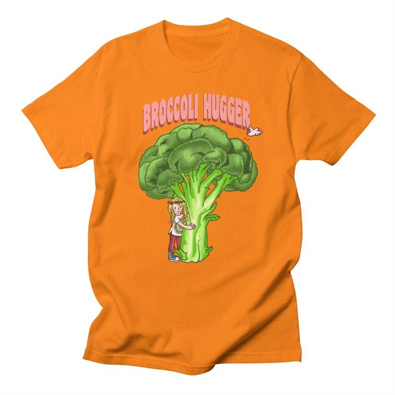Broccoli Hugger Women's Regular Unisex T-Shirt by kooky love's Artist Shop