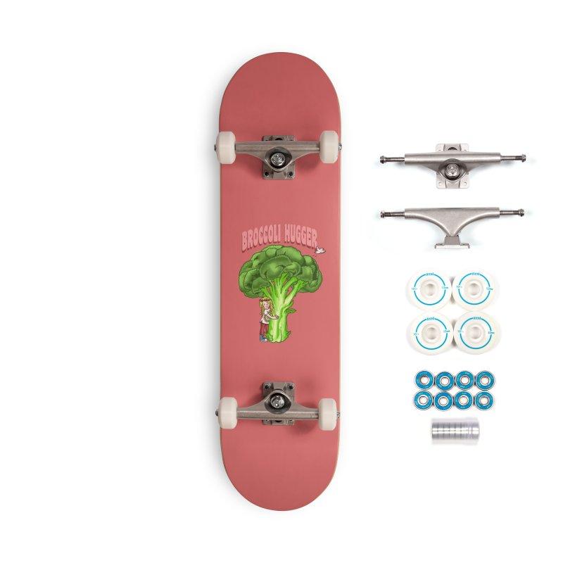 Broccoli Hugger Accessories Complete - Basic Skateboard by kooky love's Artist Shop