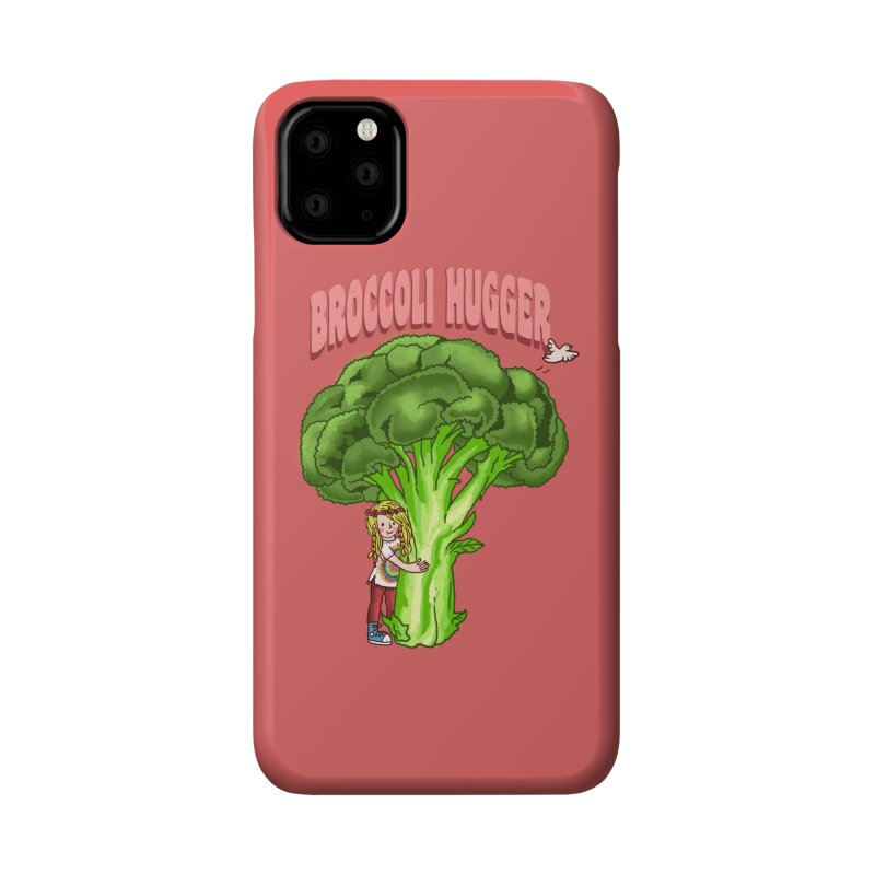 Broccoli Hugger Accessories Phone Case by kooky love's Artist Shop