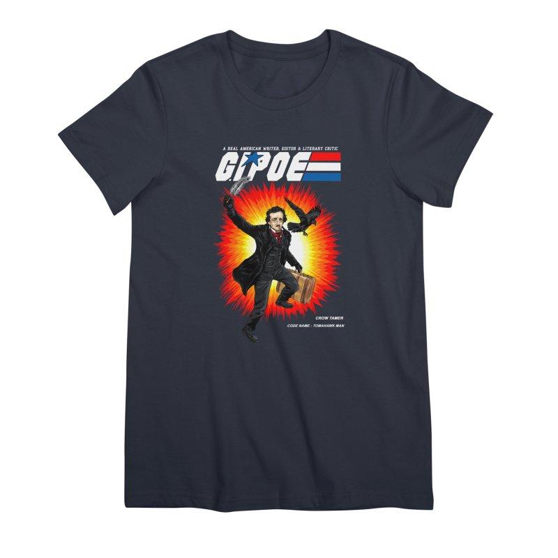 G.I. POE Women's Premium T-Shirt by kooky love's Artist Shop