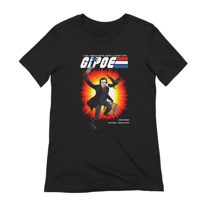 G.I. POE Women's Extra Soft T-Shirt by kooky love's Artist Shop