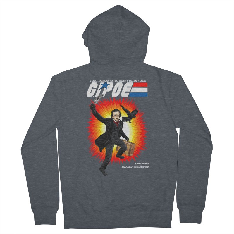 G.I. POE Men's French Terry Zip-Up Hoody by kooky love's Artist Shop
