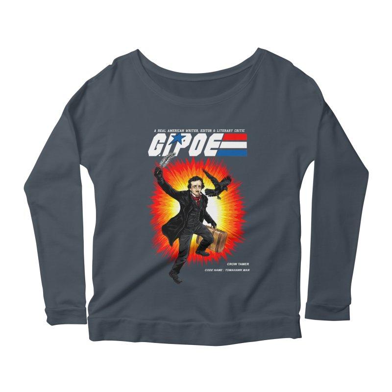 G.I. POE Women's Scoop Neck Longsleeve T-Shirt by kooky love's Artist Shop