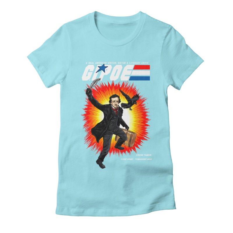 G.I. POE Women's Fitted T-Shirt by kooky love's Artist Shop