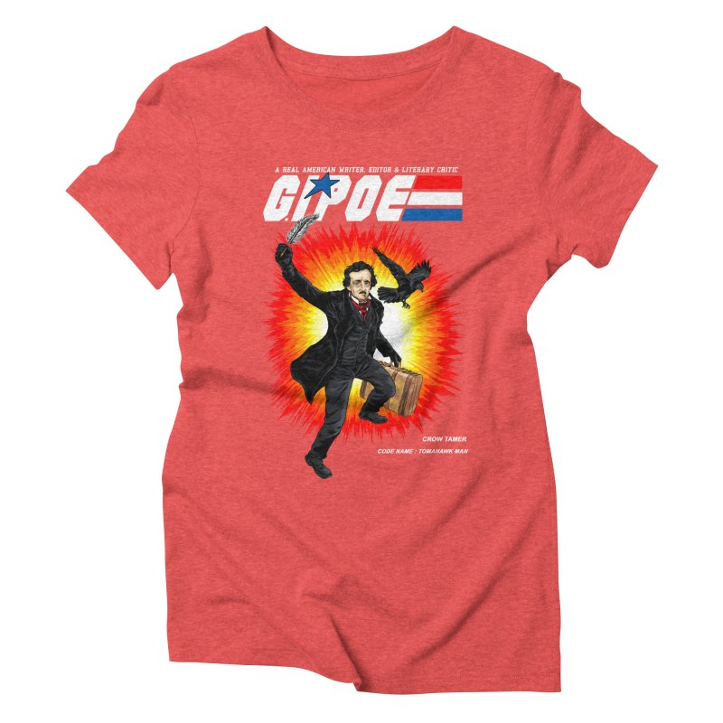 G.I. POE Women's Triblend T-Shirt by kooky love's Artist Shop