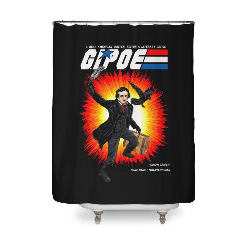 G.I. POE Home Shower Curtain by kooky love's Artist Shop