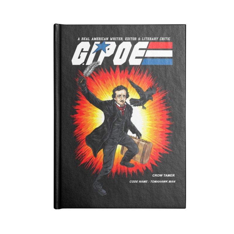 G.I. POE Accessories Lined Journal Notebook by kooky love's Artist Shop