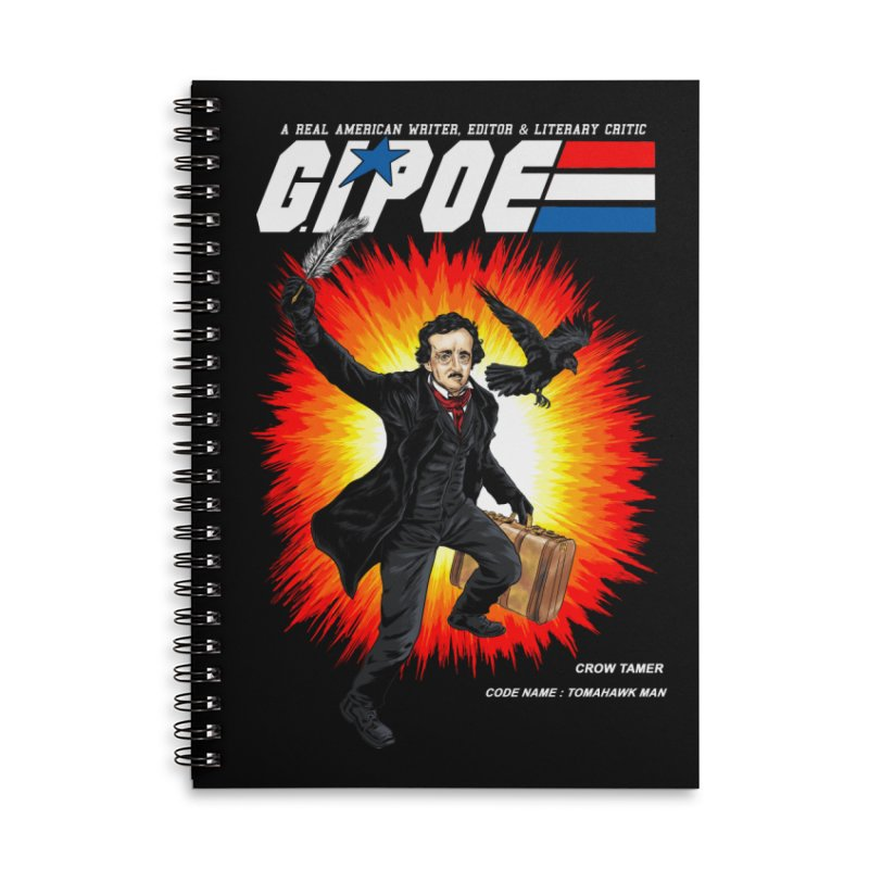 G.I. POE Accessories Lined Spiral Notebook by kooky love's Artist Shop