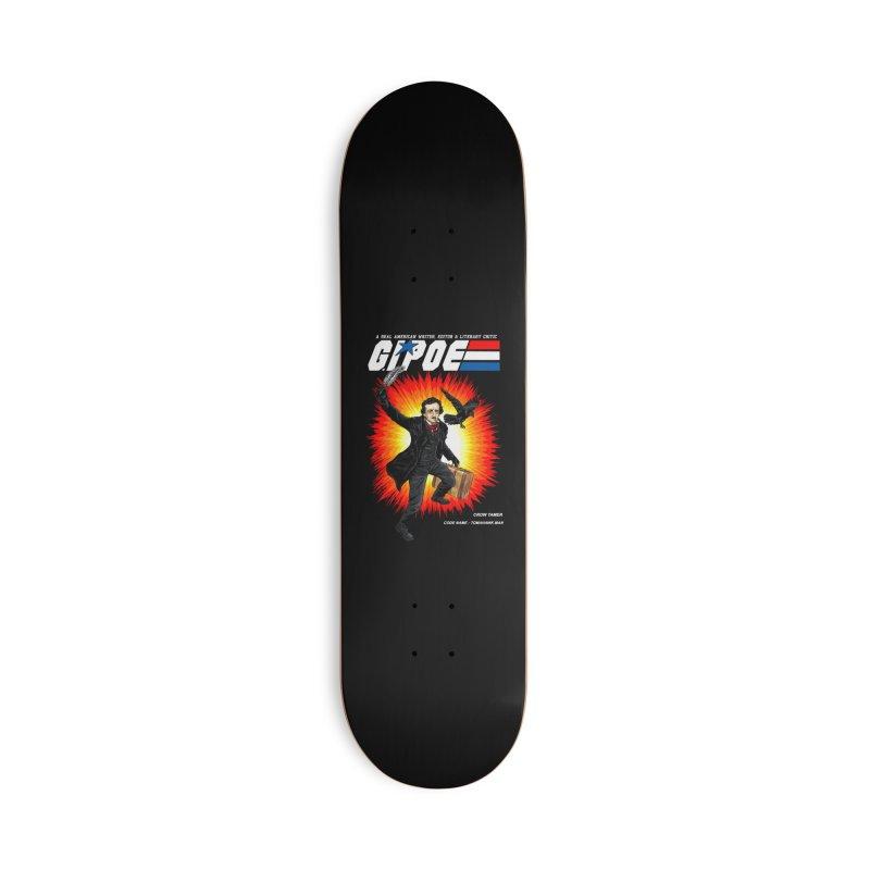 G.I. POE Accessories Deck Only Skateboard by kooky love's Artist Shop