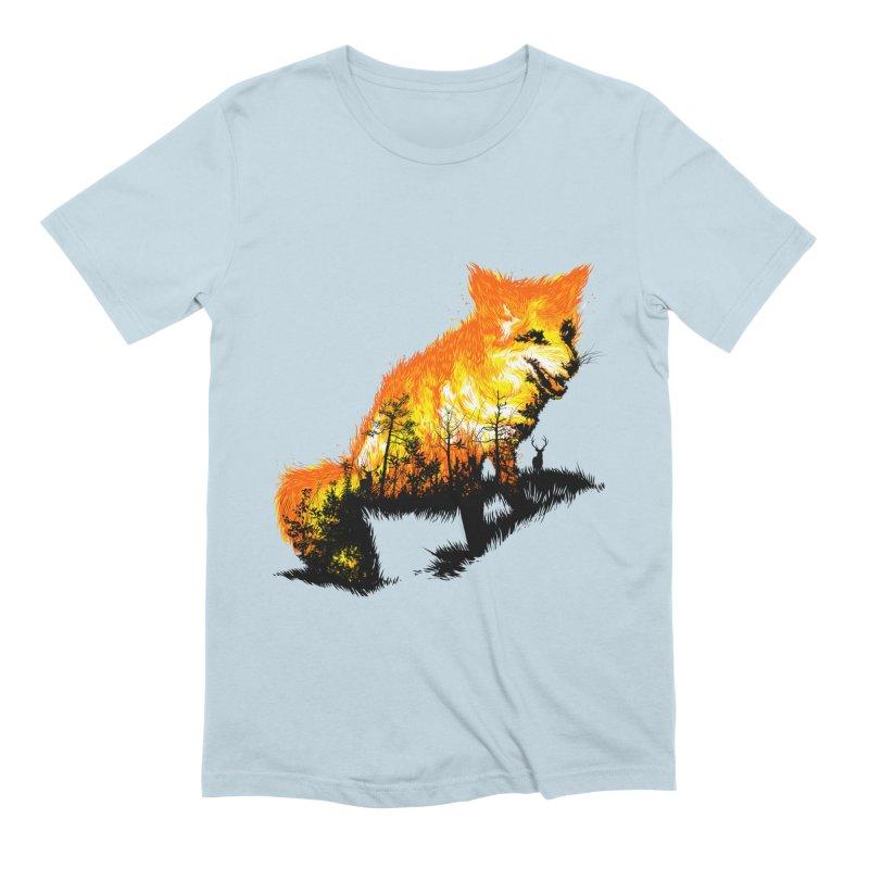 Fire Fox Men's Extra Soft T-Shirt by kooky love's Artist Shop