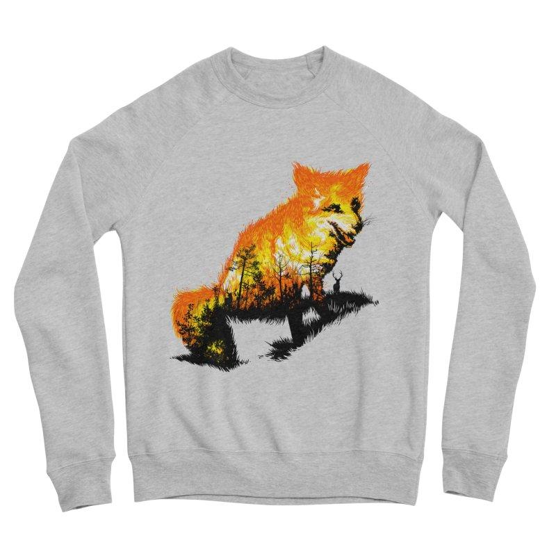 Fire Fox Women's Sponge Fleece Sweatshirt by kooky love's Artist Shop