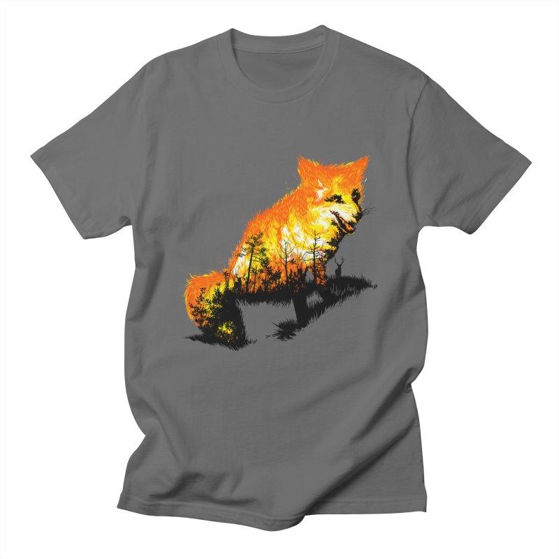 Fire Fox Men's T-Shirt by kooky love's Artist Shop