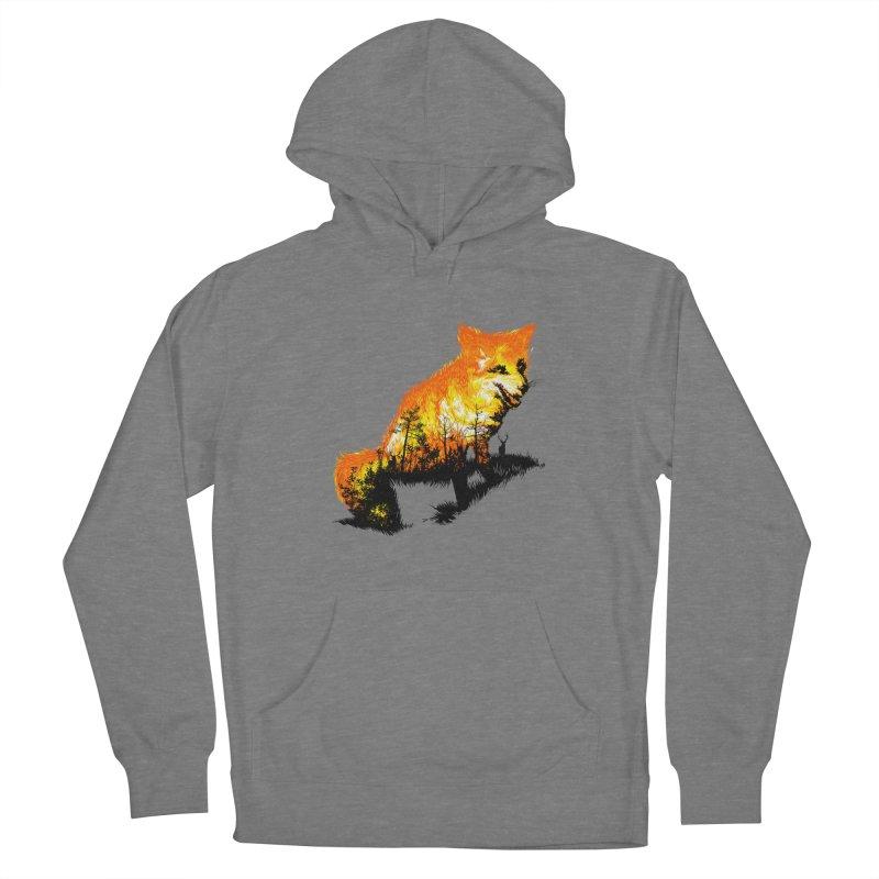 Fire Fox Women's Pullover Hoody by kooky love's Artist Shop
